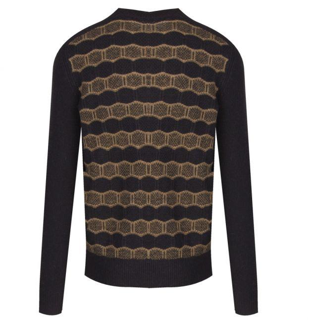 Casual Mens Black Katrinos Knitted Jumper