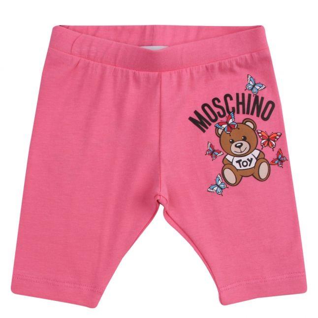 Baby Dark Pink Toy Butterfly Leggings