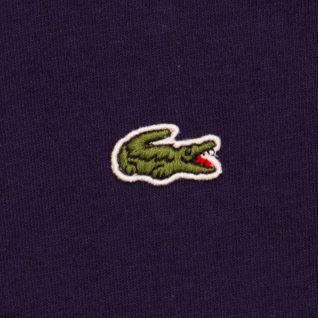 Boys Navy Branded Sport S/s Polo Shirt