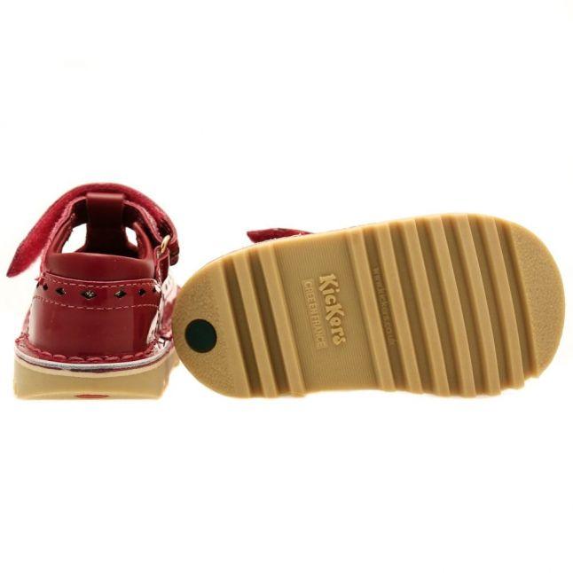 Infant Dark Red & Gold Kick T Diamond (5-11)