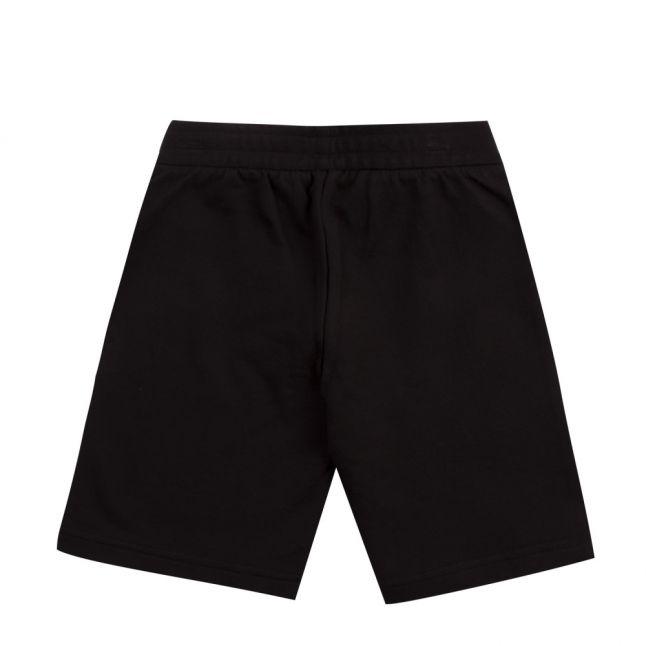 Boys Black Train 7 Lines Sweat Shorts