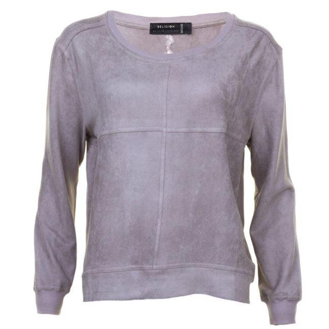 Womens Paloma Grey Ethos Sweat Top