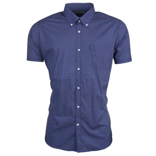 Lifestyle Mens Navy Theo S/s Shirt