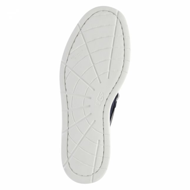 Mens True Navy Beach Moc Slip-On Shoes