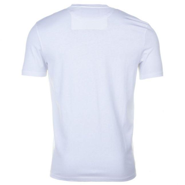 Mens White Crew S/s Tee Shirt