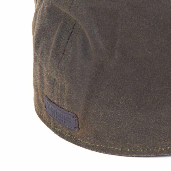 Mens Olive Portland Bakerboy Hat