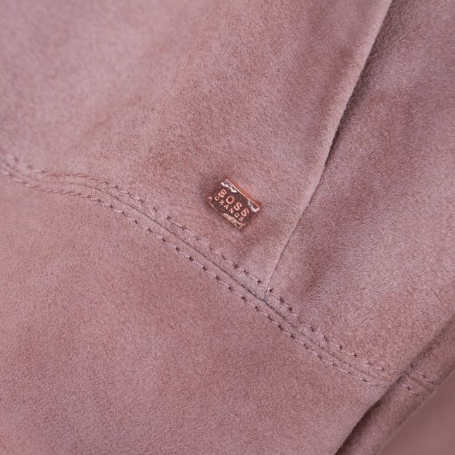 Womens Light Brown Jawalla Suede Coat