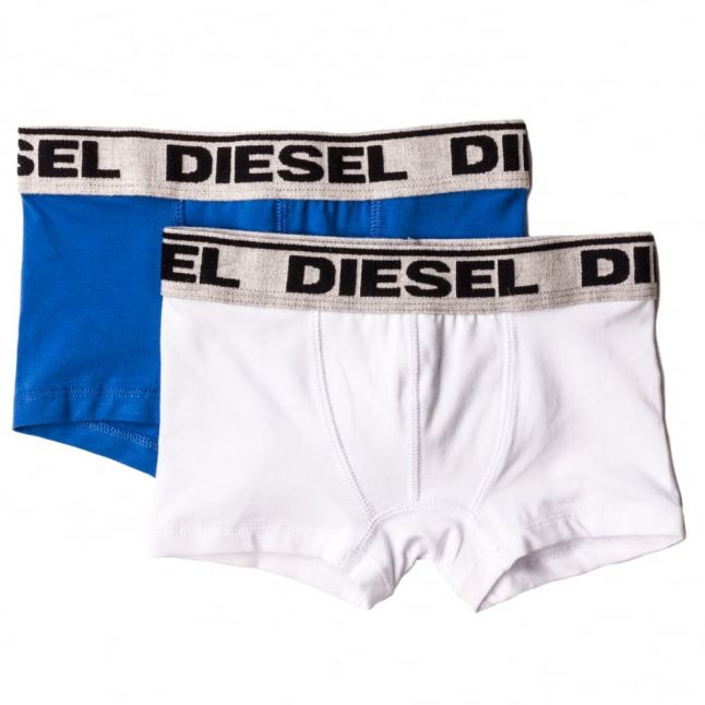 Boys Blue & White 2 Pack Boxers