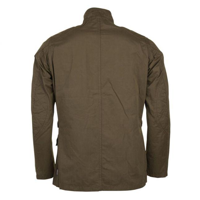 Mens Dark Sand Lockseam Casual Jacket