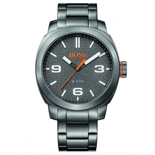 Watches Mens Grey Cape Town Bracelet Strap Watch