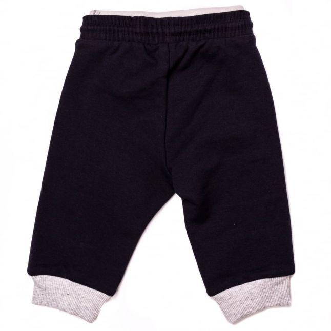 Baby Navy Branded Jog Pants