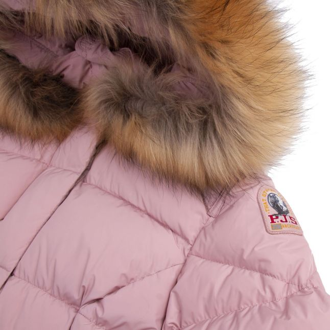 Girls Bambi Fur Hooded Jacket