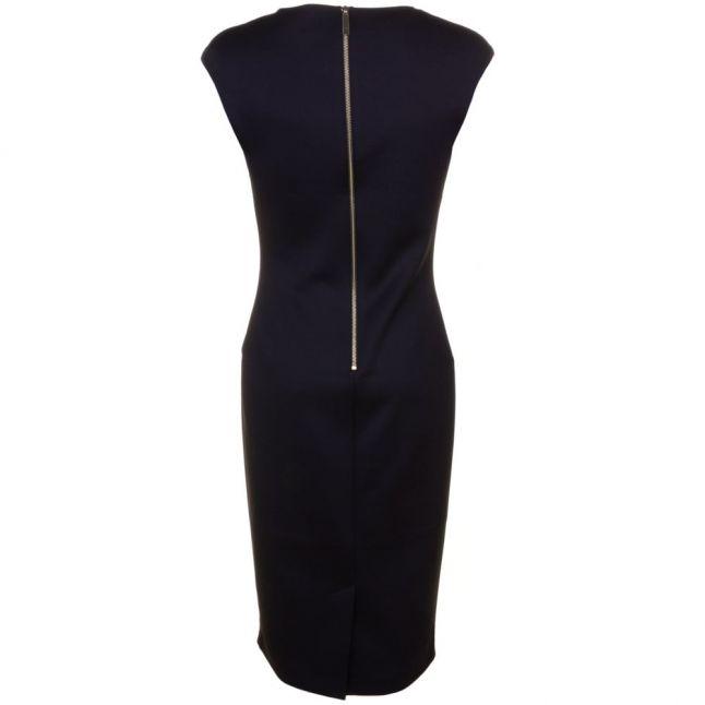 Womens Black Ashey Butterfly Necklace Dress