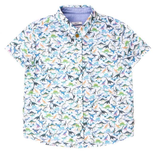 Boys White Neo Shirt