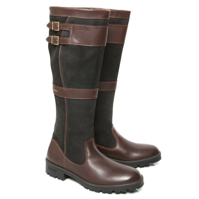 Longford Black & Brown Boots