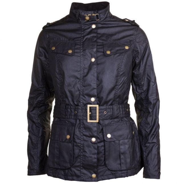 Womens Black Goldwing Waxed Jacket