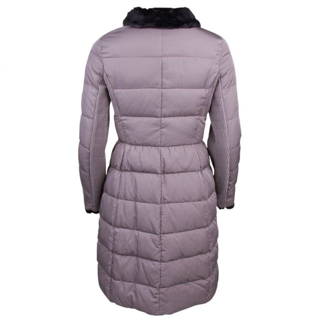 Womens Taupe Down Puffer Jacket