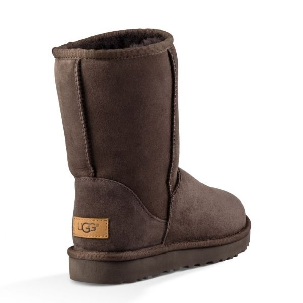 Womens Chocolate Classic Short II Boots