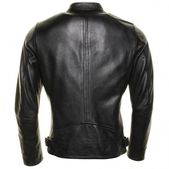 Mens Black L-Edg Leather Jacket