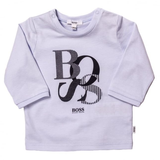 Boss Baby Pale Blue Branded L/s Tee Shirt