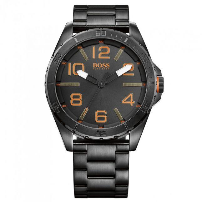 Mens Black Dial Berlin Bracelet Strap Watch