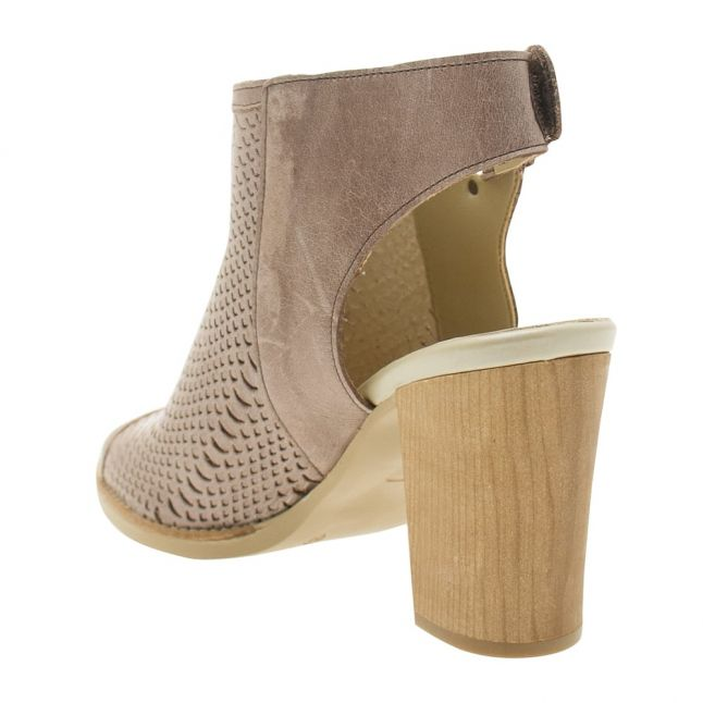 Womens Taupe Lirra Heeled Shoes