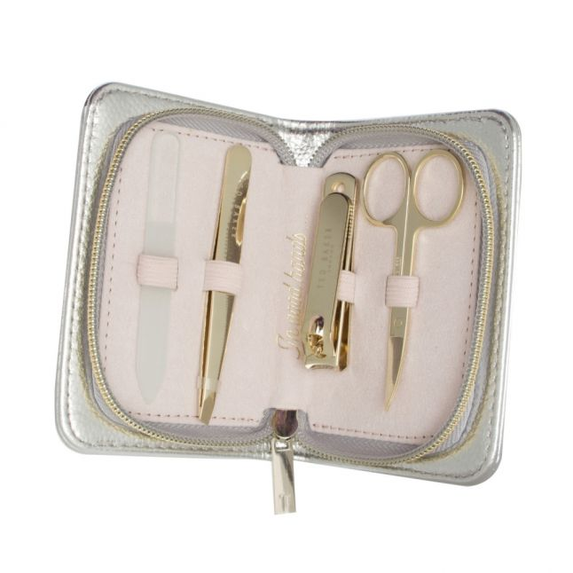 Womens Silver Manicure Set