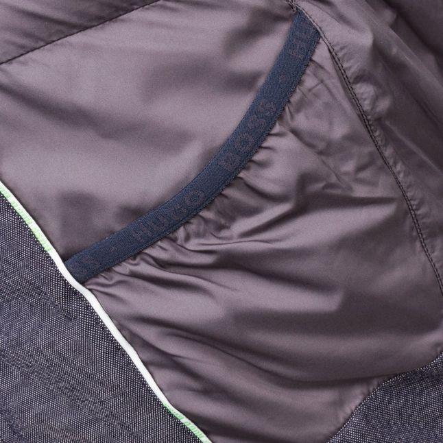Boss Green Mens Navy Jiandro Puffer Jacket
