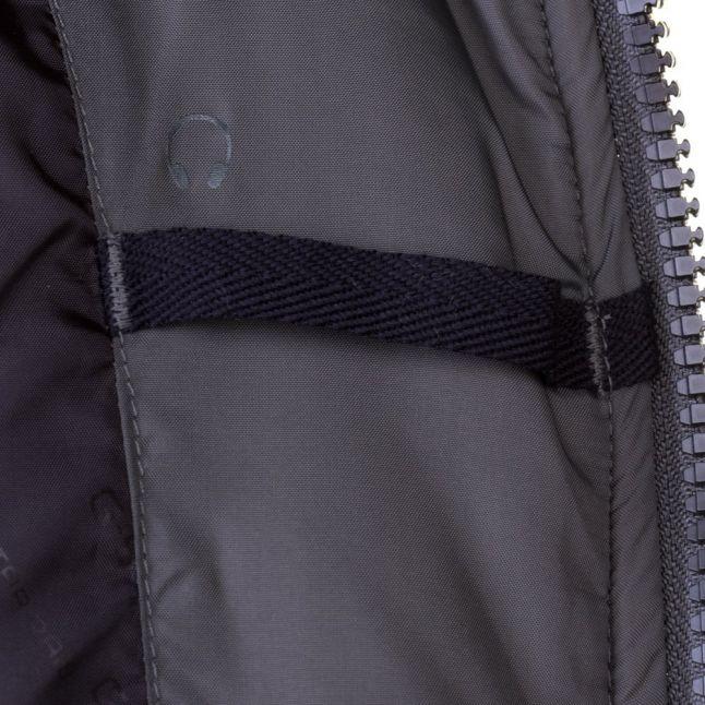 Mens Grey Whistler Faux Fur Hooded Jacket