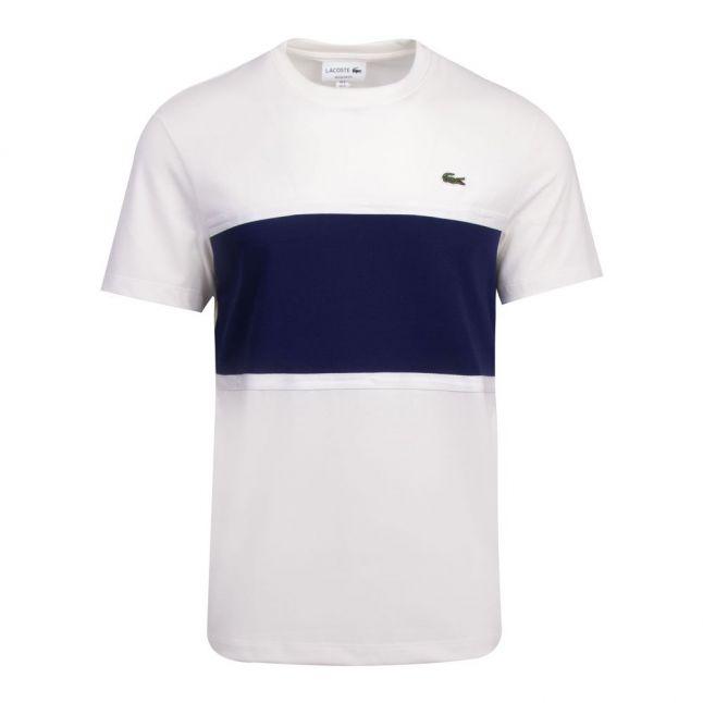 Mens Flour Colour Block S/s T Shirt