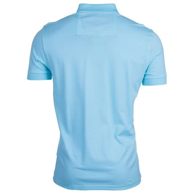 Mens Open Blue C-Firenze S/s Polo Shirt