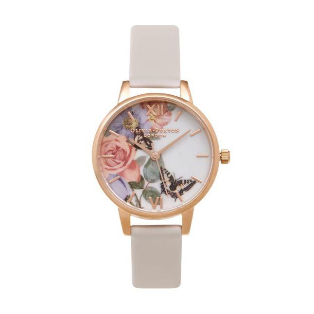 Womens Blush & Rose Enchanted Garden Watch