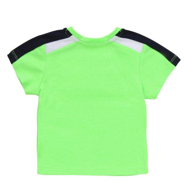 Toddler Green Raised Logo S/s T Shirt