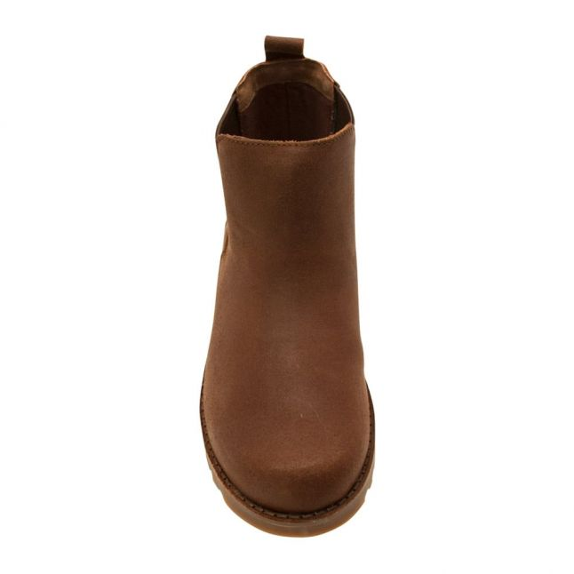 Kids Chocolate Callum Boots (12-5)