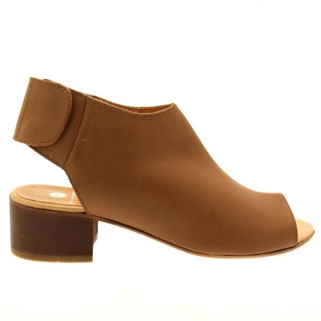 H By Hudson Womens Tan Iris Sling Back Sandals