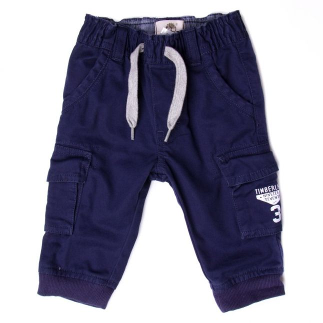 Baby Navy Branded Trousers