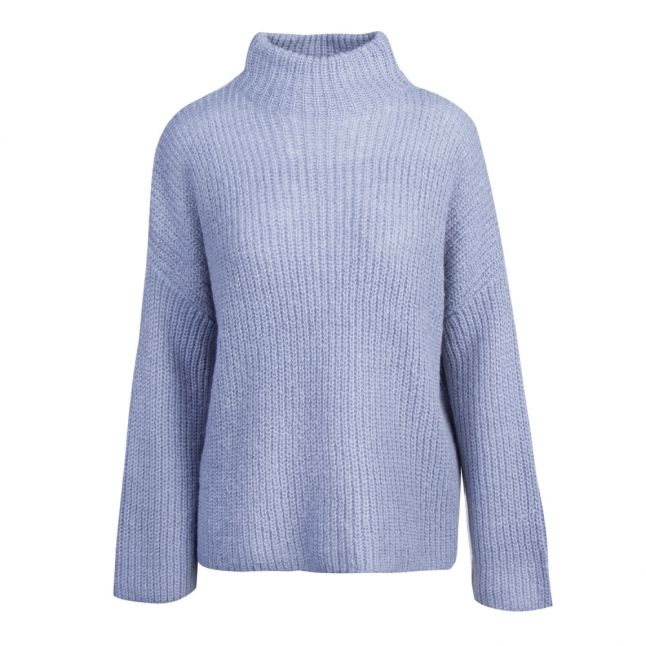 Womens Ashley Blue Viglippa Knitted Jumper