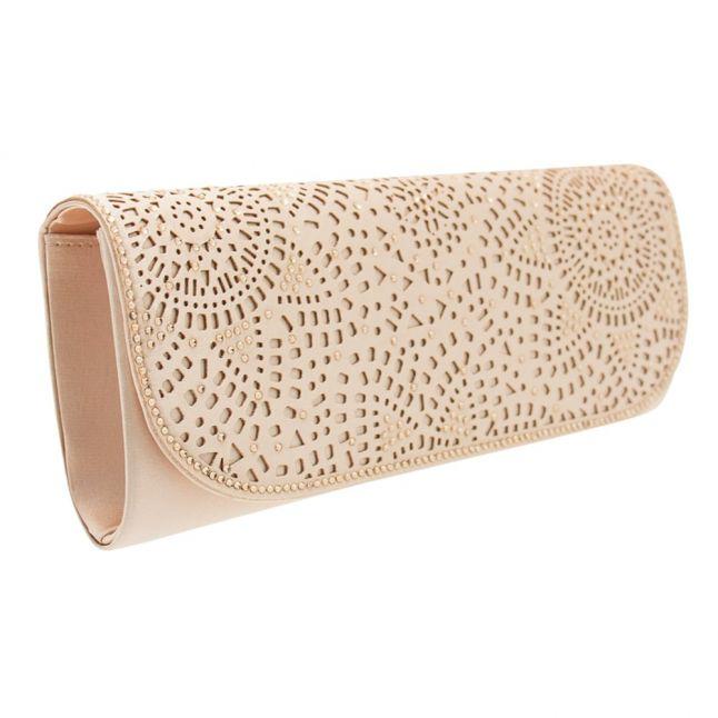 Womens Nude Korralclutch Bag