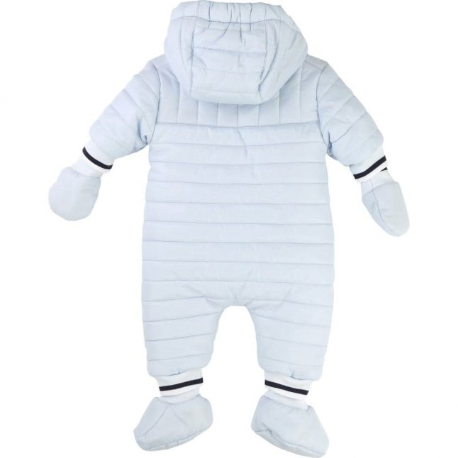 Baby Blue Tipped Snowsuit