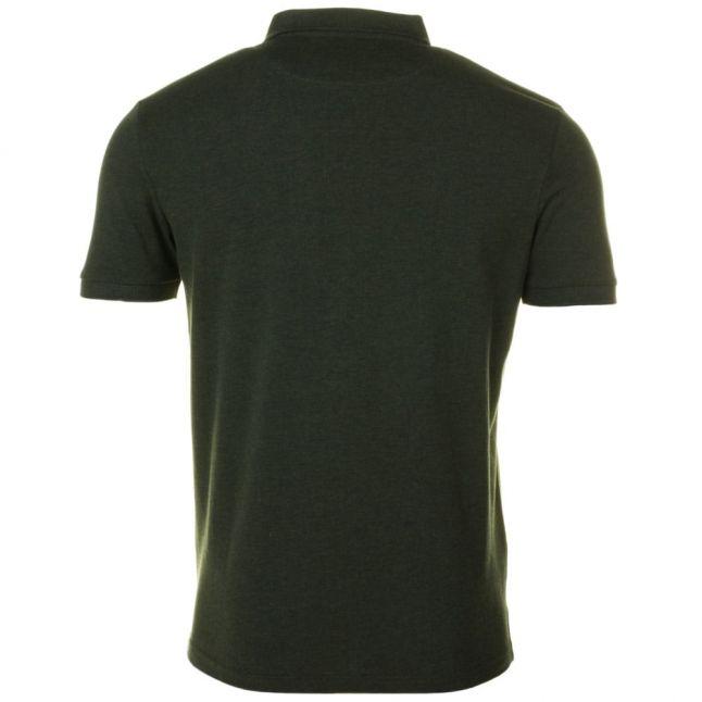 Mens Dark Sage Marl S/s Polo Shirt