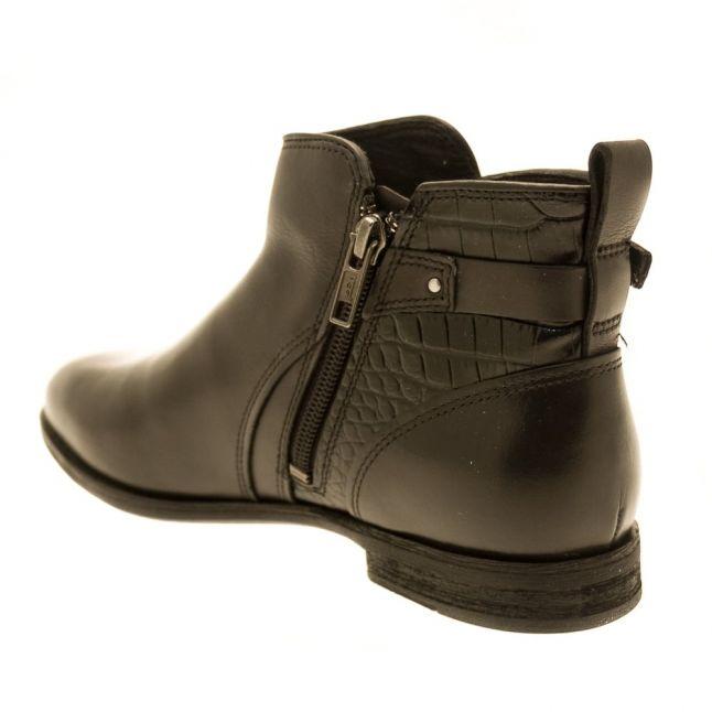 Womens Black Demi Croc Boots