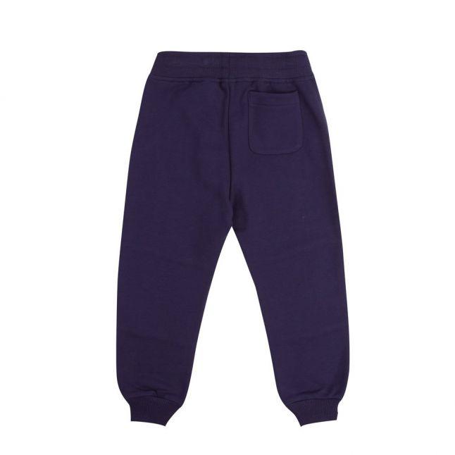 Boys Navy Shadow Logo Sweat Pants