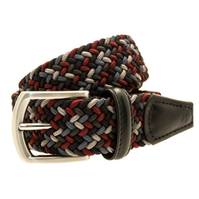 Mens Multi Woven Belt