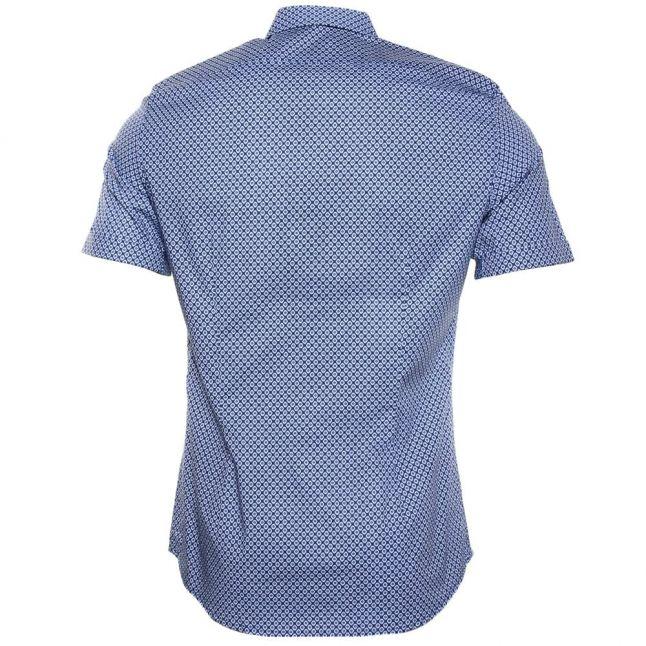 Mens Blue S-Leppa-Sho S/s Shirt