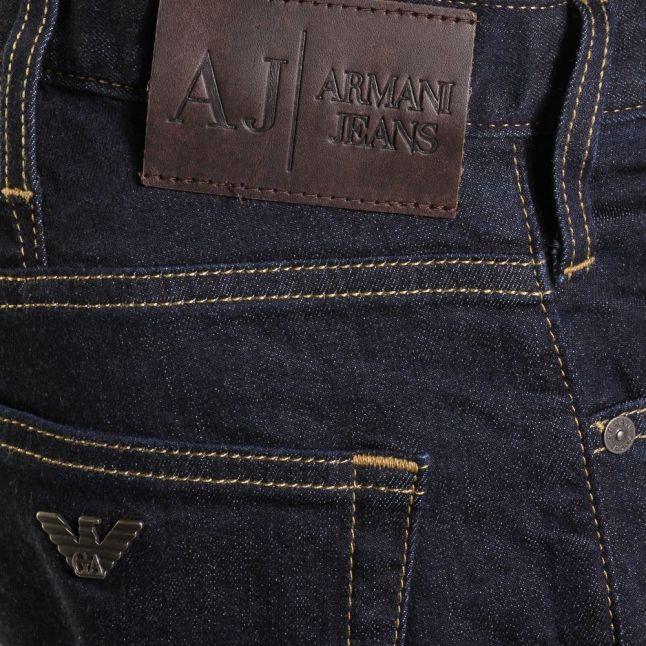 Mens Blue Wash J21 Regular Fit Jeans