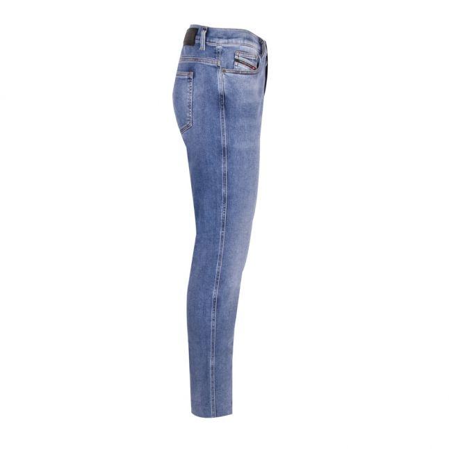 Mens 009BG Wash D-istort Skinny Fit Jeans