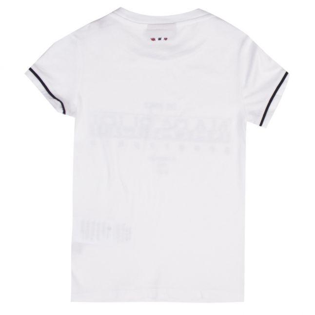 Boys Bright White Sebyl S/s T Shirt