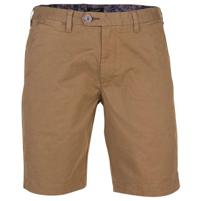 Mens Tan Shesho Chino Shorts