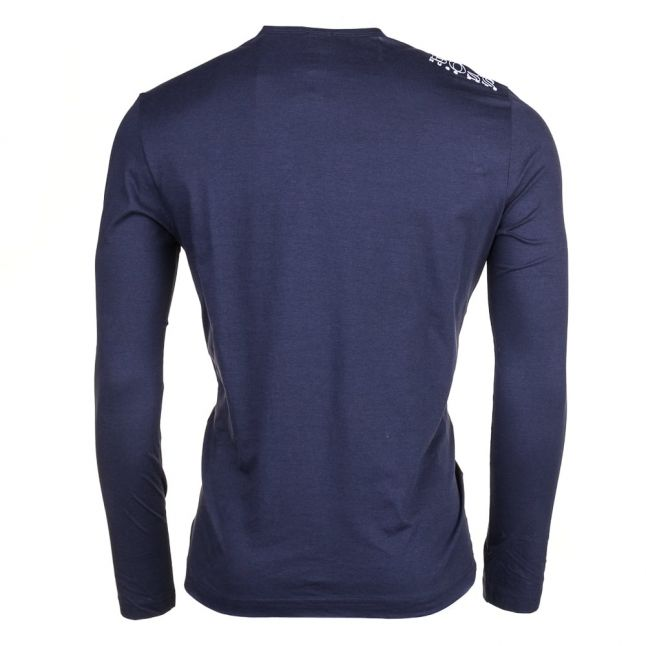 Athleisure Mens Navy Togn Small Logo L/s T Shirt