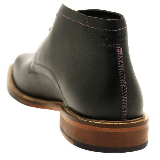 Mens Black Torsdi4 Leather Boots